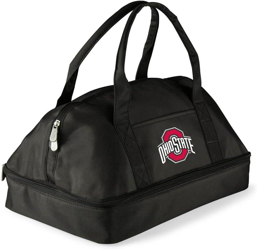 a Picnic Time brand Ohio State Buckeyes ONIVA Black Potluck Casserole Tote,