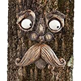 Cheap Bits and Pieces-Old Man Tree Hugger – Garden Peeker Yard Art – Outdoor Tree Hugger Sculpture Whimsical Tree Face Garden Decoration