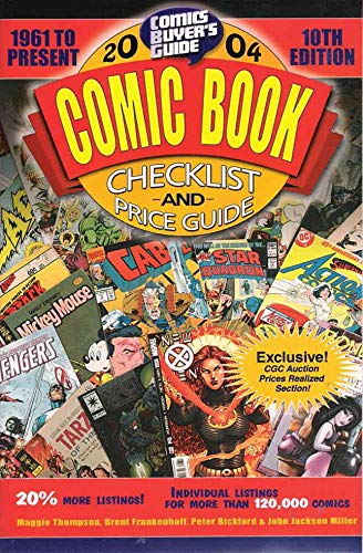 Comics Buyer's Guide Comic Book Checklist & Price Guide #2004 FN ; Krause comic book