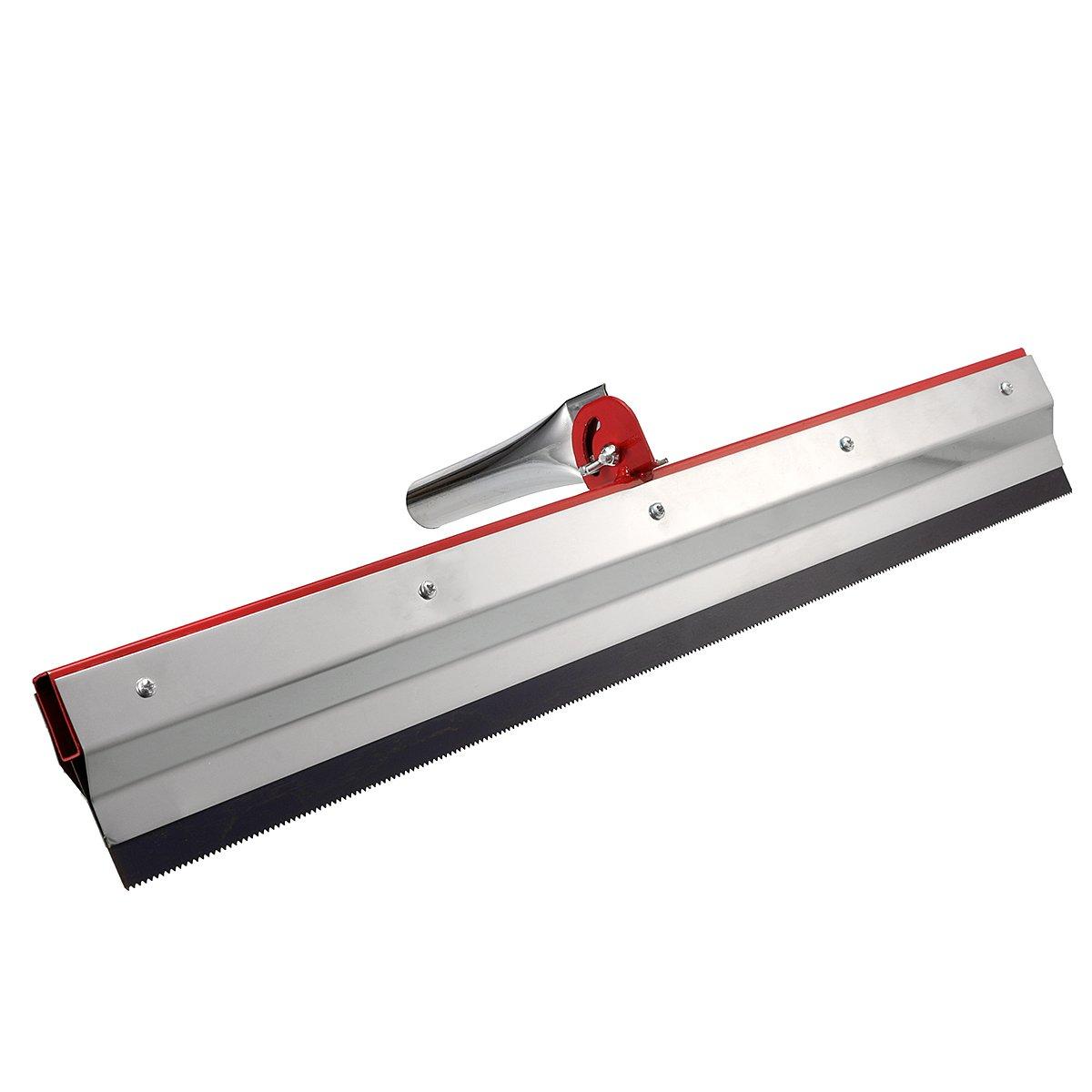 KUNSE Recortados De La Escobilla De Goma Cemento Pintura Epoxi Autonivelante Pavimentos Engranaje Rastrillo 2 3 5Mm Kit De Herramientas-2Mm