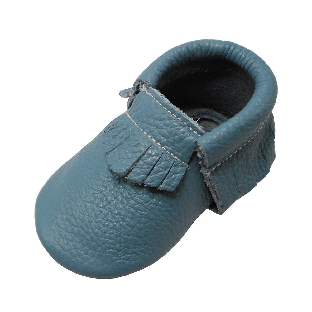 YIHAKIDS Baby Shoes Soft Leather Sole Infant Toddler Little One Crib Tassels Moccasins