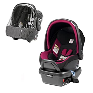 Peg Perego Primo Viaggio 4 35 Infant Car Seat With Rain Cover Fleur