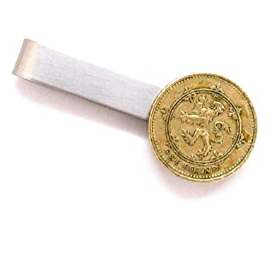 Schottische Münze Tie Bar Clip Tiebar Tieclip Schottland Mittelalter