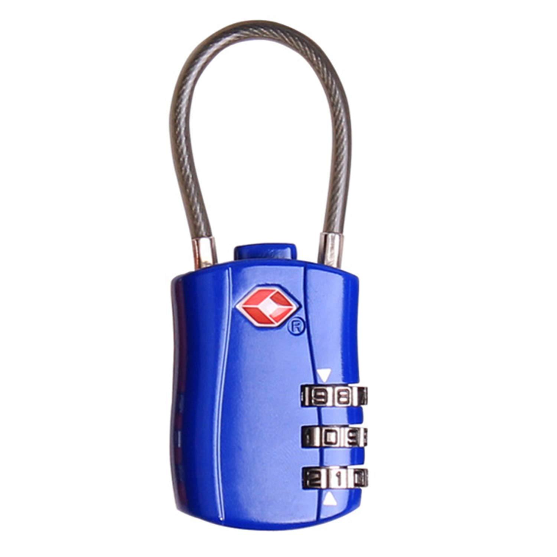 tecmac TSA007 SKG Travel 3 Digit Security - Luggage
