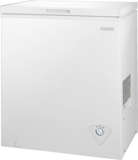 Insignia 5.0 Cu. Ft. Chest Freezer White NS-CZ50WH6 - Best Buy