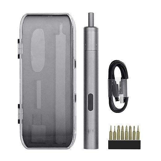Mini Precisión Destornillador Eléctrico Compacto Recargable ...