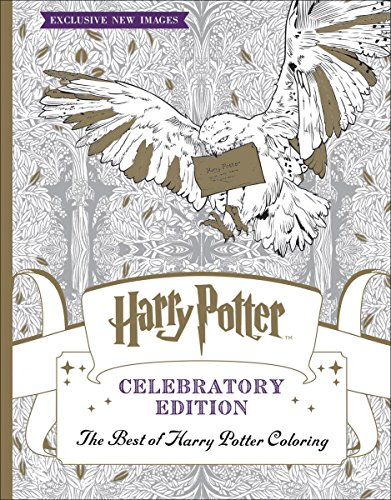 Book The Best Of Harry Potter Coloring Celebratory Edition