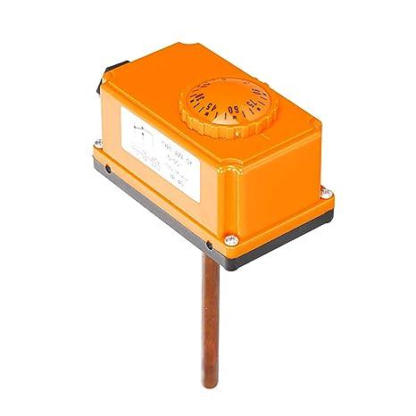 1/2 pulgada termostato tubería para tubo caldera termostato contacto calefaccion 220v 16A - 0