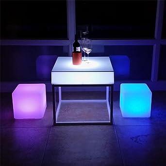Xiaomin Led Leuchtende Art Und Weise Bunter Couchtisch Wohnzimmer