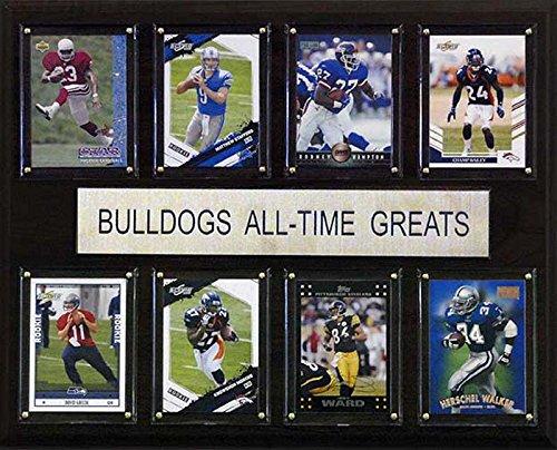 CandICollectables 1215ATGUGA NCAA Football 12 x 15 in. Georgia Bulldogs All-Time Greats Plaque from CandICollectables