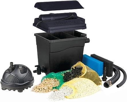 prix spécial pour limpide en vue dernière collection Ubbink Filtre de Berge filtraclear 6000 Plus Set avec Pompe elimax 1500
