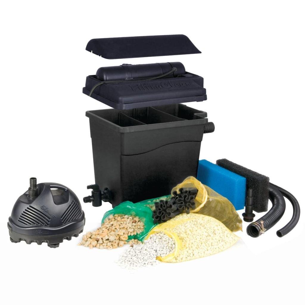 Ubbink Filtre de Berge filtraclear 8000 Plus Set avec Pompe elimax 2000
