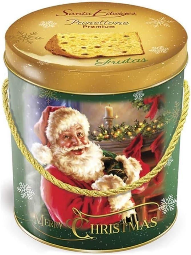 Panettone Frutas Cristalizadas Lata 400g - Santa Edwiges por Santa Edwiges