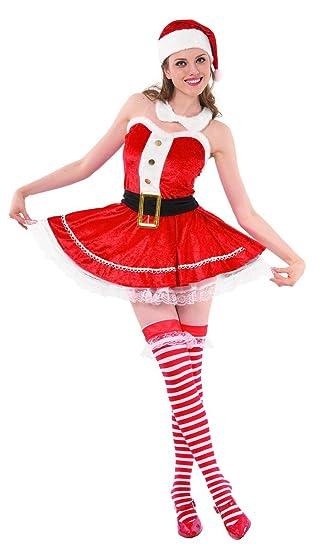 Desconocido Disfraz de Mama Noel Sexy: Amazon.es: Juguetes y ...