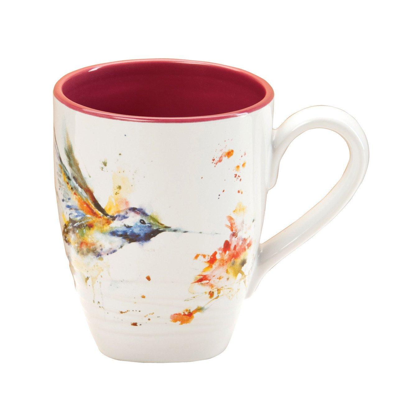 DEMDACO B5050124 Big Sky Carvers Hummingbird Mug, Multicolored