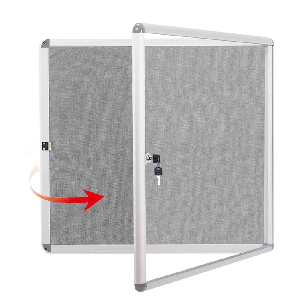 Fabric Bulletin Board(gray)