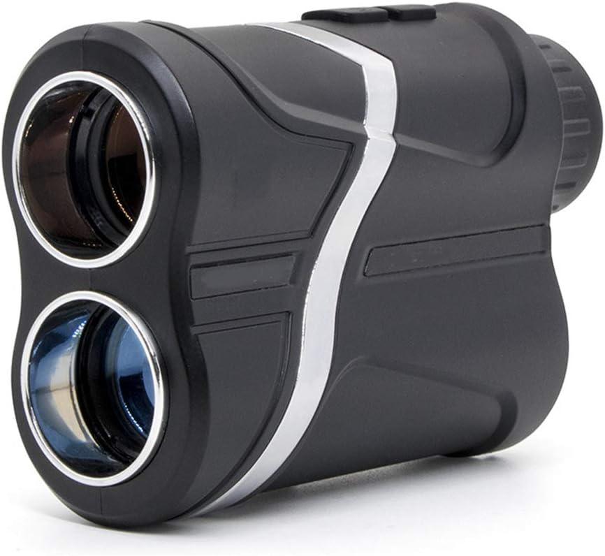La Alta precisión de Golf telémetro láser, de Carga USB, 600/1000/1500 Metros de medición de Distancia, Lente óptico 7X, Cámara en Mano a Prueba de Agua al Aire Libre Caza telémetro,600M
