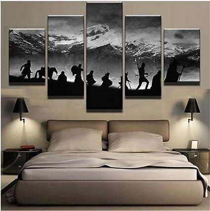 Le Seigneur des Anneaux POSTER TOP FANTASY film Wall Art Photo Sur Toile Imprime