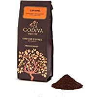Godiva 歌帝梵 咖啡粉 焦糖 中度烘焙咖啡 10盎司 Ground Coffee Caramel 【由亚马逊海外卖家Meivita美国直邮】