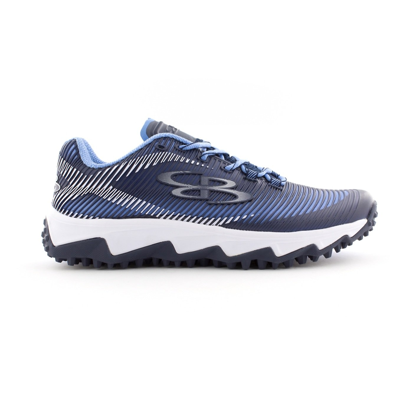 BoombahメンズAftershock DPS Turf Shoes – 18カラーオプション – 複数のサイズÉ B0767QCKXR 12|Navy/Columbia Navy/Columbia 12