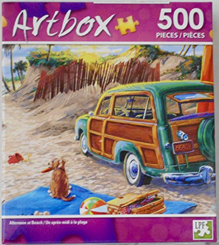 Artbox Jigsaw Puzzle - Afternoon at Beach - 500 Pieces