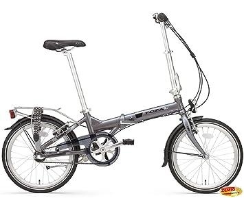 Holland bicicleta plegable para Plezier f207 N3 aluminio gris 3 marchas