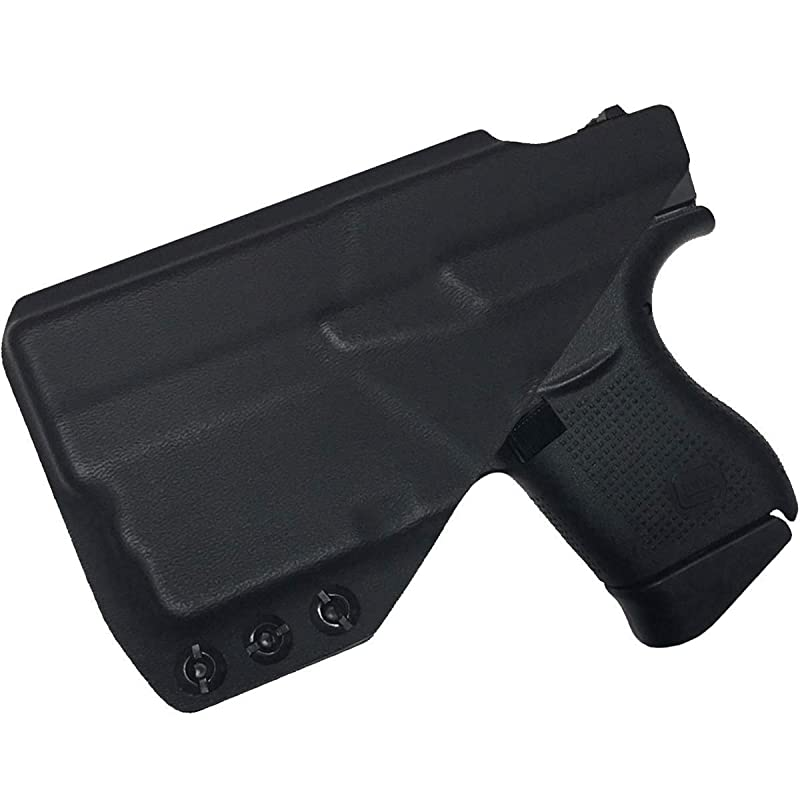 All Gens Glock 43 43x with TLR6 Black Kydex RH hardware kit Details about  /Kydex Shell Fits