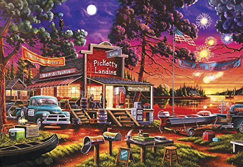 Buffalo Games - Pickett's Celebration - 2000 Piece Jigsaw (Celebration Jigsaw Puzzle)