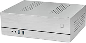 Goodisory A02 0.12in Mini-Itx Aluminum Desktop Computer Chassis HTPC Chassis (Silver)