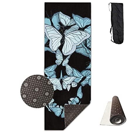 Louis Berry - Esterilla de Yoga con diseño de Calavera ...
