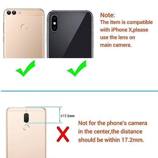 Amazon.com: Puremood - Objetivo para cámara de teléfono ...