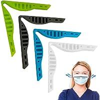 Dioxide 4 stuks siliconen neusbrugpads, anti-condens-spons, zelfklevend, anti-condens-spons, gebruikt voor masker…