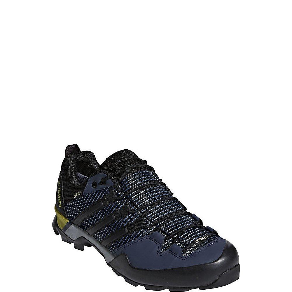 fast delivery new design exquisite design adidas outdoor Men's Terrex Scope GTX Core Blue/Black/EQT Yellow 10.5 D US