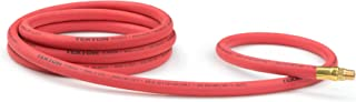 product image for TEKTON 46334 3/8-Inch I.D. by 10-Foot 250 PSI Rubber Lead-In Air Hose with 1/4-Inch MPT Ends