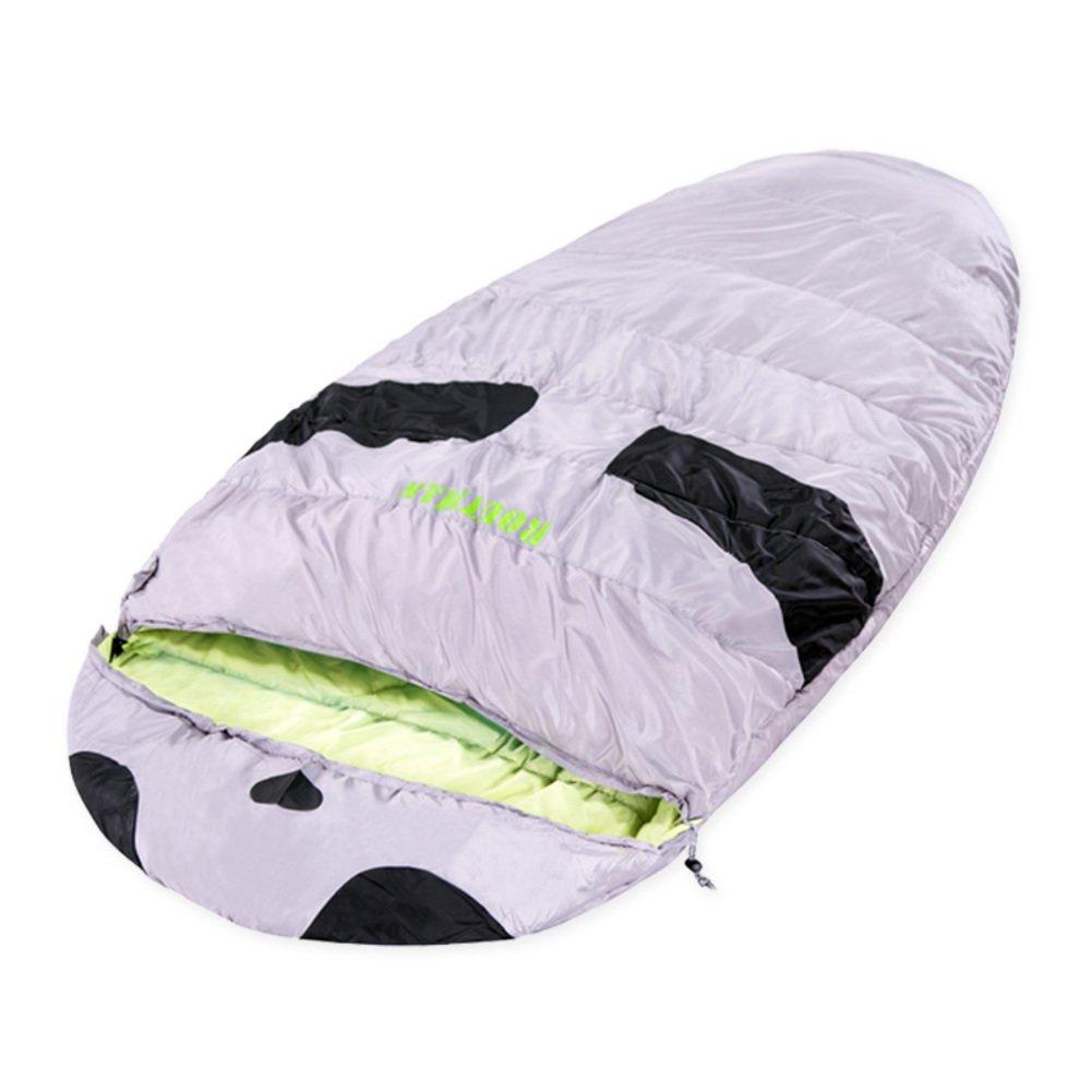 大人用アウトドアSleepingバッグ/キャンプThick Warm Indoor Sleepingバッグ B01LX0GX8J  A