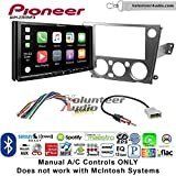 Pioneer AVH-2300NEX Double Din Radio Install Kit with Apple CarPlay Android Auto Bluetooth Fits 2005-2009 Subaru Legacy, Outback