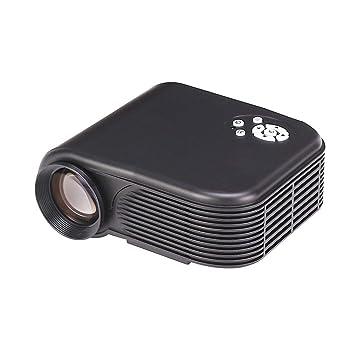 WEIGZ Proyector móvil Home HD proyector Miniatura 32-100-inch ...