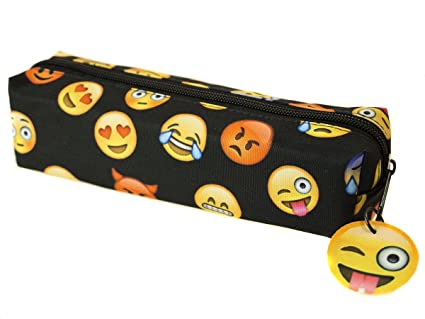 Ferocity Estuches plumier la Tuba Emoji Black [008]