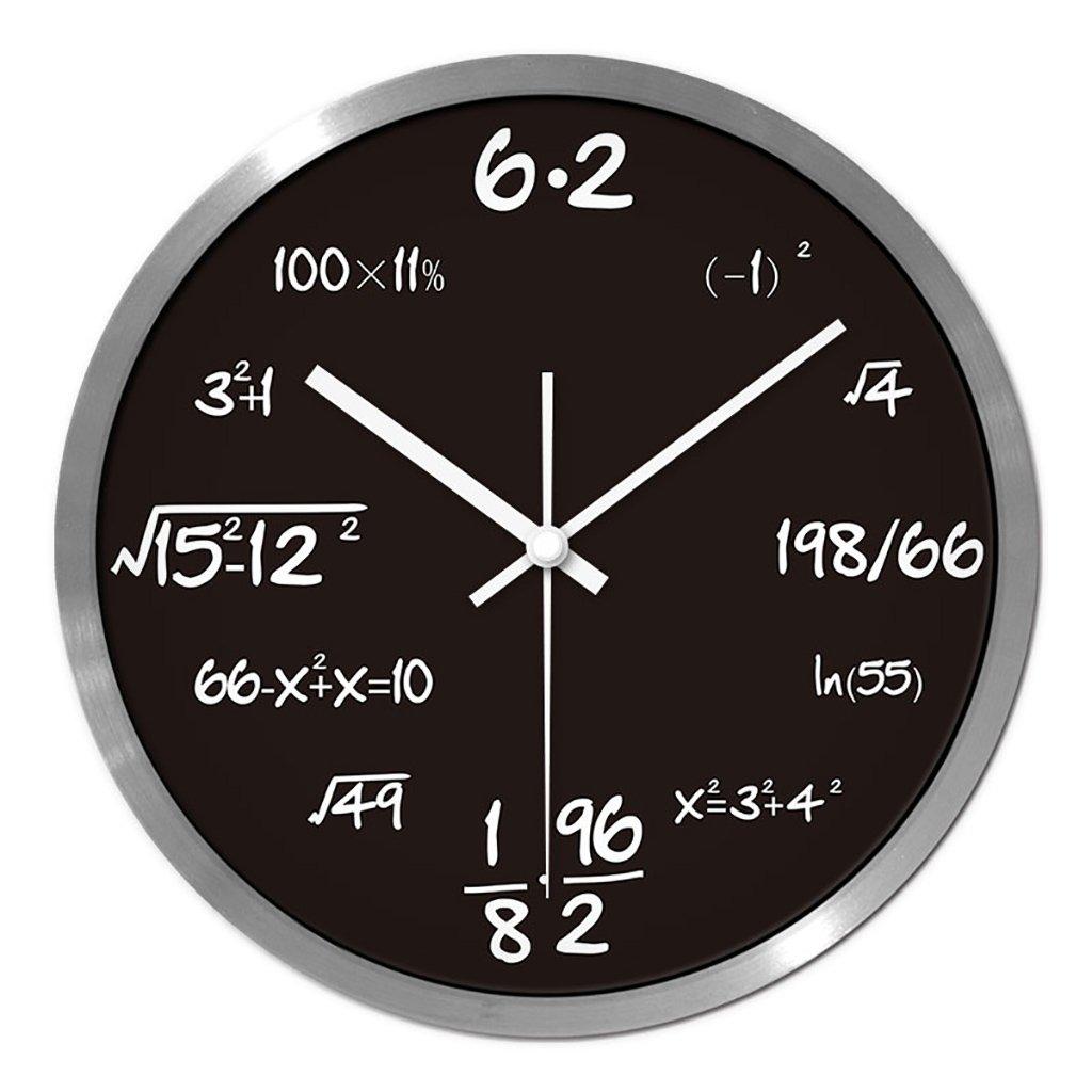 リビングルームクリエイティブ現代のクォーツ時計のベッドルーム静かなパーソナライズされたシンプルなファッションウォールクロック (色 : 3, サイズ さいず : L l) B07FPVJBHT L l|3 3 L l