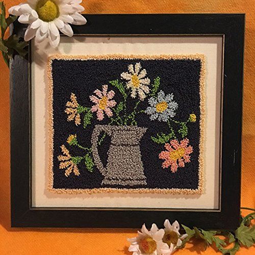 Punch Needle Embroidery CRAZY DAISY