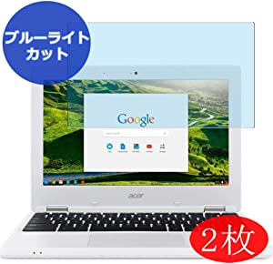 "【2 Pack】 Synvy Anti Blue Light Screen Protector for Acer Chromebook 11 CB3-131-C3SZ 11.6"" Anti Glare Screen Film Protective Protectors [Not Tempered Glass]"
