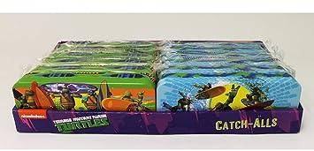TMNT tortugas Ninja lápiz caso lata x 2 (1 cada estilo ...