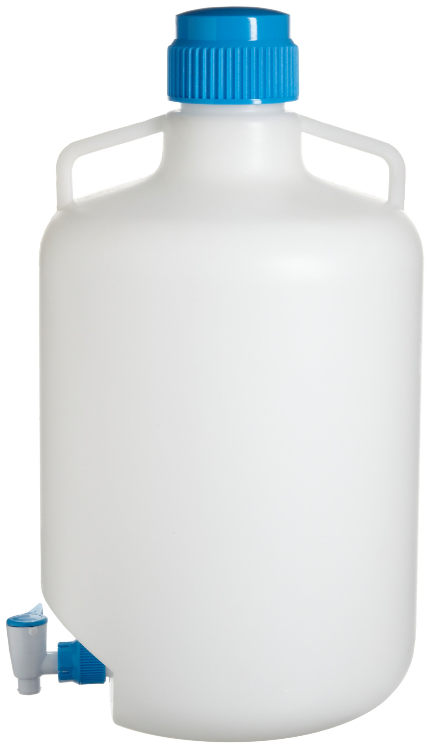 Bel-Art Autoclavable Polypropylene Carboy with Spigot; 20 Liters (5.3 Gallons) (F11846-0050) by SP Scienceware