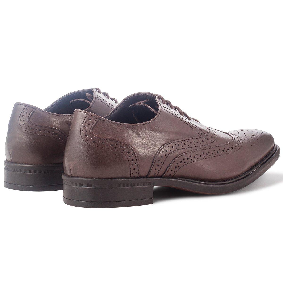 shoeprimo , Chaussures de ville à lacets pour homme Marron Browm 44