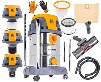 Aspirador eléctrico industrial con electrodoméstico, 1600 W, con ...