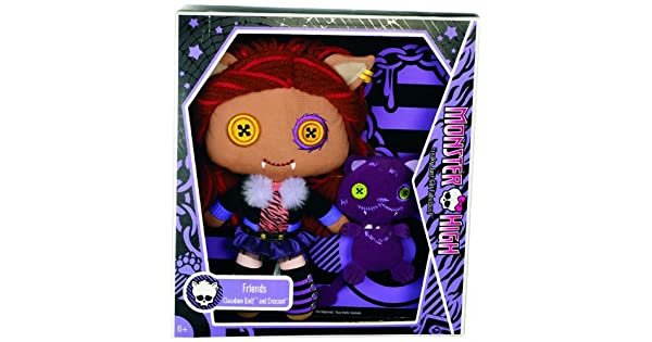 Amazon.com: Monster High amigos Clawdeen Wolf de felpa ...