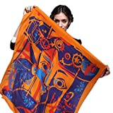 Genuine Silk Large Square Scarf 106% Mulberry Silk Scarf Spring&Autumn Western Style Free-Shipping
