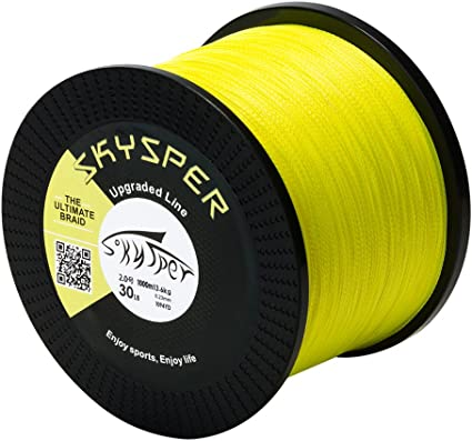 SKYSPER Angelschnur Geflochtene 4 Braid Fishing Line Super Braided Schn/üre 500m 1000m