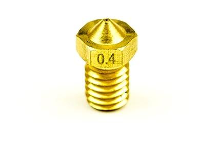 Latón Boquilla - para E3D V6 y otros modelos compatibles 1 ...