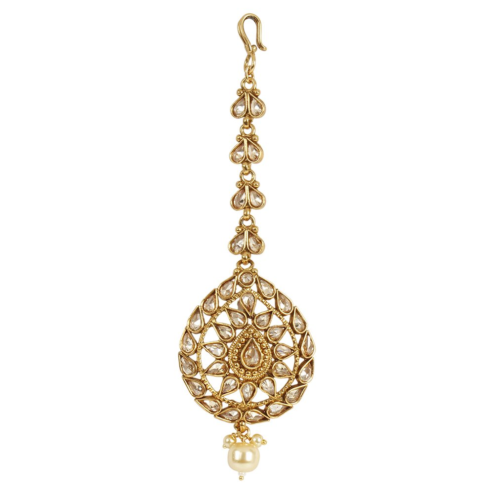 MUCH-MORE Indian Amazing Style Party wear Maang Tikka Forehead Traditional Jewelry (MT-2341)